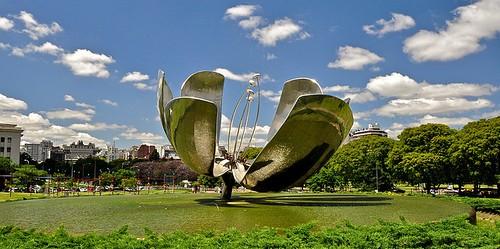 Planetarium Flower in Buenos Aires