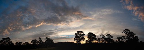 sunset nikon tasmania photomerge lightroom d5000 pse10