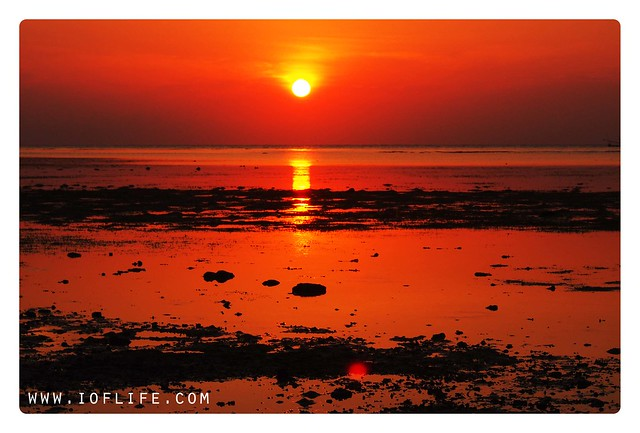 Baluran sunrise Pantai Bama