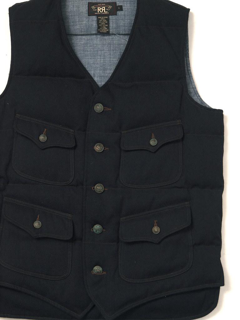 RRL / Wool Twill Vest