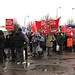 Save Lewisham A&E: queuing in the rain