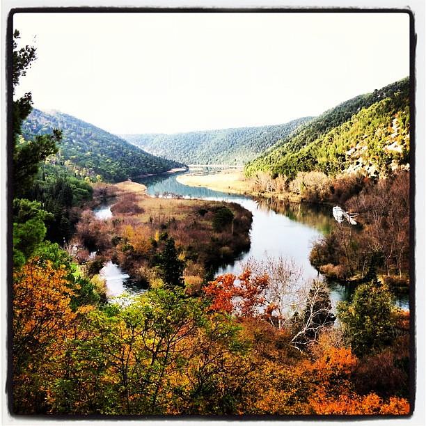 The beautiful #krkanationalpark in #croatia #unesco #travel #nature #explore #river #lake end of morning stroll. :)