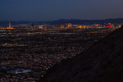 lasvegas nevada scenicviews city moutains sunset unitedstates
