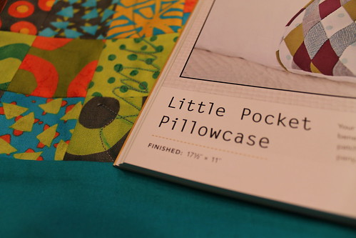 zakka style pocket pillowcase