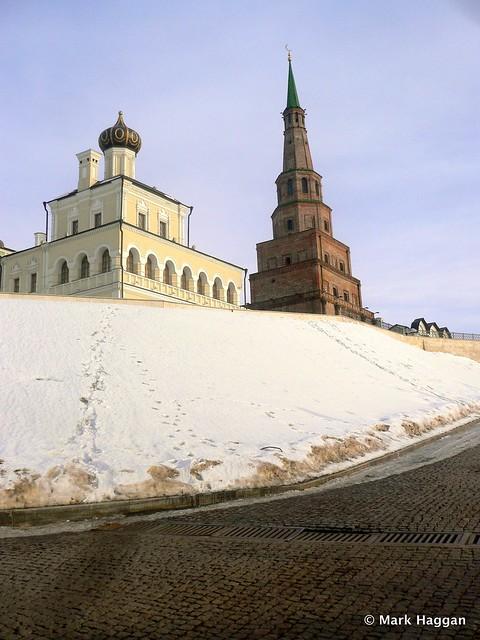 The Soyembika tower of the Kazan Kremlin