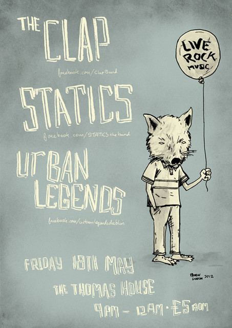 The Clap, Statics, Urban Legends poster