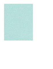 portrait A2 card size JPG Snow Dot Day (light turquoise) paper LARGE SCALE