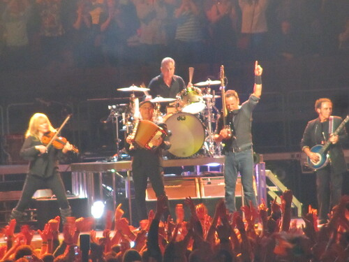 Bruce Springsteen in Vancouver – hard hitting rock and soul music