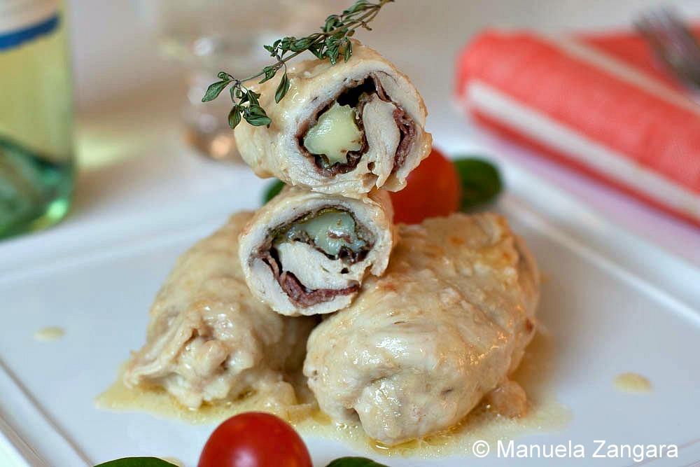 Chicken Involtini with Stracchino, Spinach and Speck ...
