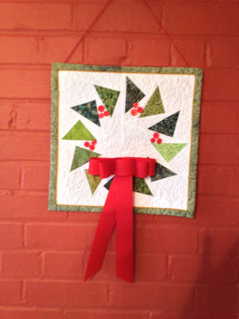 Quilted Christmas Wreath