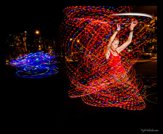 Kapiolani Park - Hoopers and Fire Dancers