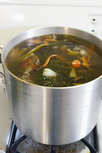 Veggie Stock from Scraps