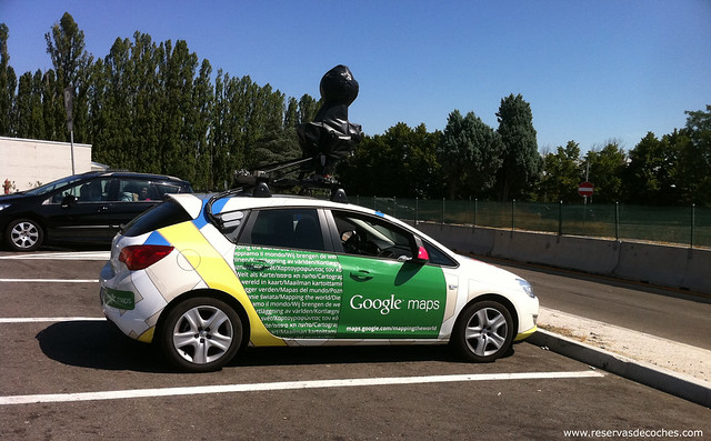 Photo:Coche de Google Maps By:ReservasdeCoches.com