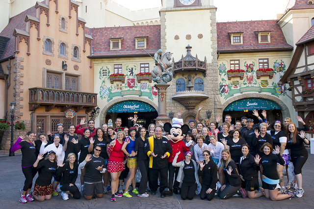 runDisney Wine and Dine Half Meet-Up. Photo by runDisney.