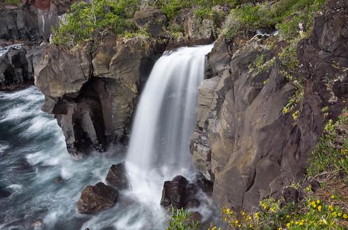 対島の滝 2012.11.28-1