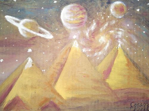 2012 alinierea planetelor si piramidele din Egipt
