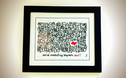 Social marketing requires #soul, says @gapingvoid