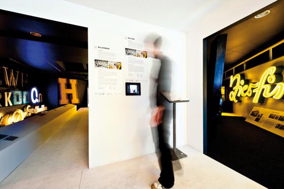 Buchstabenmuseum, Berlin. Photo: Andre Stoeriko