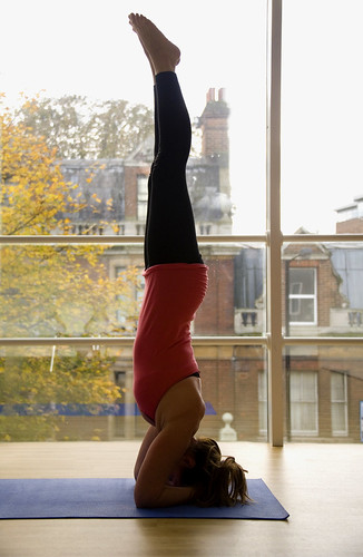 Sirasana headstand Yoga