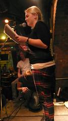 Janea bei textstrom Poetry Slam