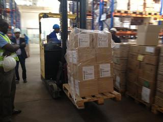 Kit Yamoyo cartons at Medical Stores Limited