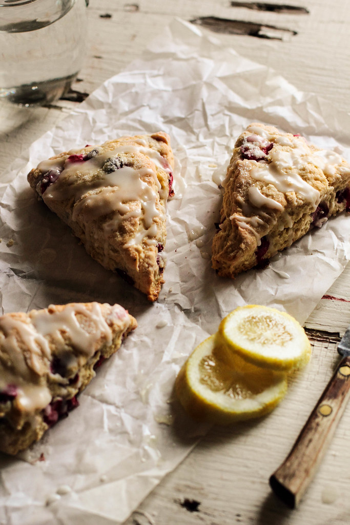 Cranberry Lemon Scones