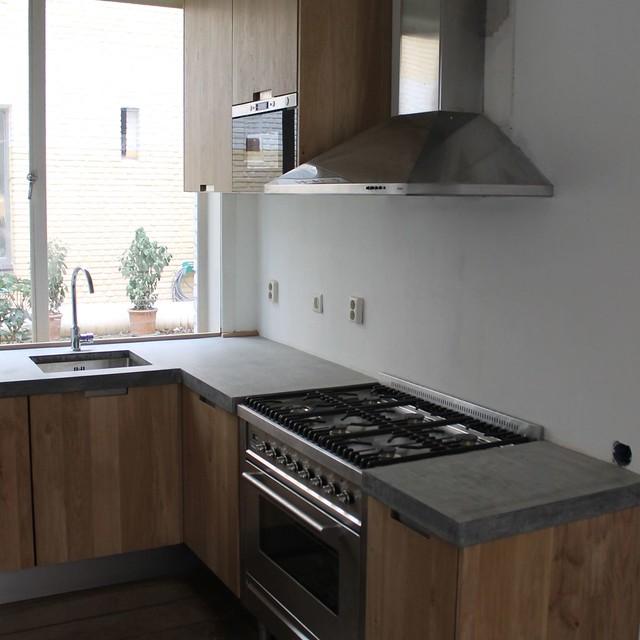 Zwarte Keuken Betonnen Blad – Atumre.com