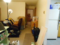 Unpacking Progress-Day 2 hallway
