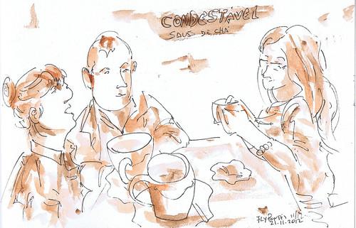 2012.11 chá no Condestável
