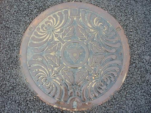 Zentsuji city Kagawa pref, manhole cover (香川県善通寺市のマンホール)