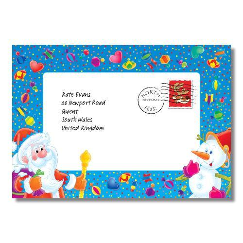 Print Your Own Father Christmas Santa Claus Christmas Letters ...