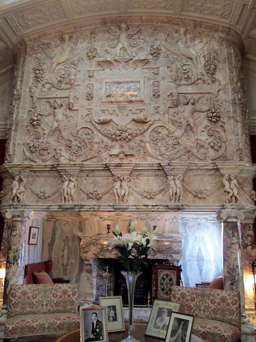 Massive Marble Fireplace, Cragside, Northumberland