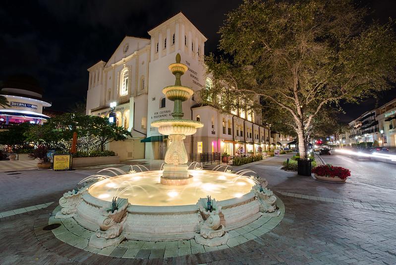 Fountain Glow