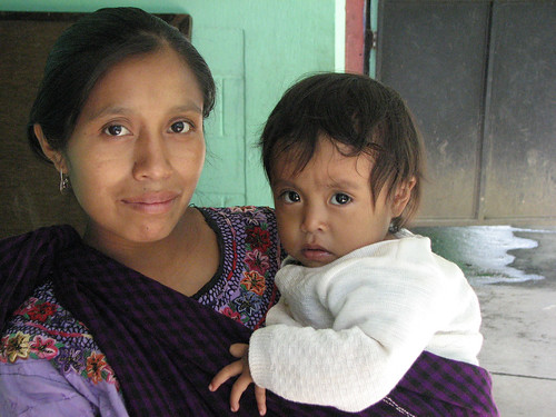 Indigenous Mom and Baby