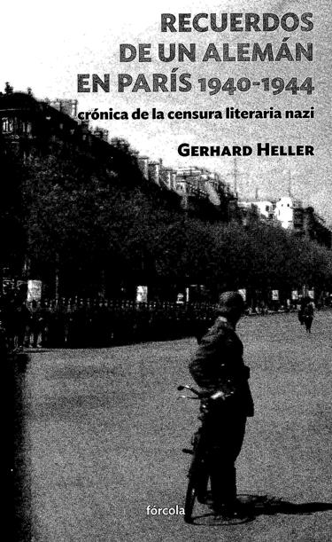 12l05 Un alemán en París Gerhard Heller Uti 375