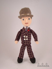 crocheted Nucky Thompson doll