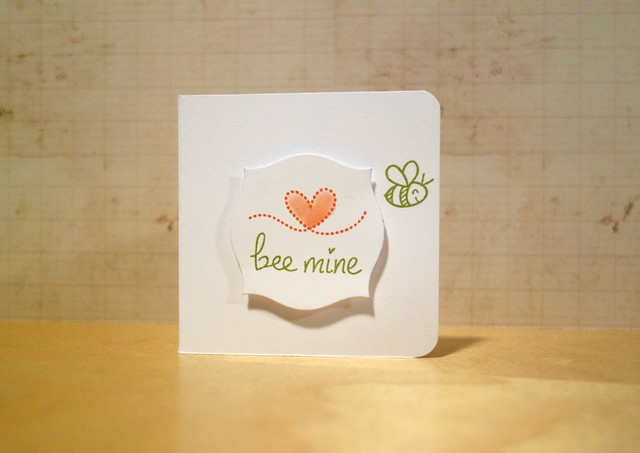 Bee Mine Notecard
