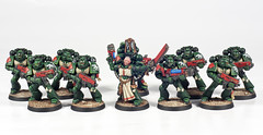 Dark Angels Space Marine Squad