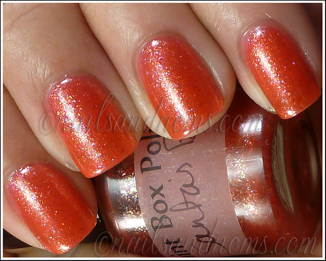 Paint Box Polish - Santa's Britches 1