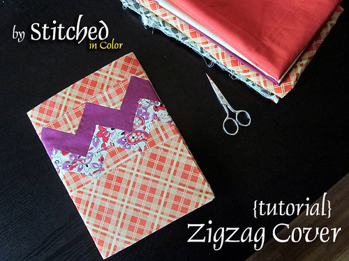 Zigzag Journal Cover Tutorial