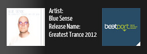 BSA0001: Blue Sense - The Greatest Trance Hits Of 2012