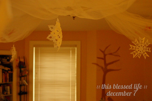 december 7: snowflakes