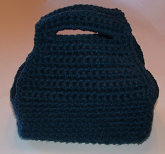 Crocheted Loaf Pan Carrier
