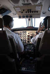 from cockpit