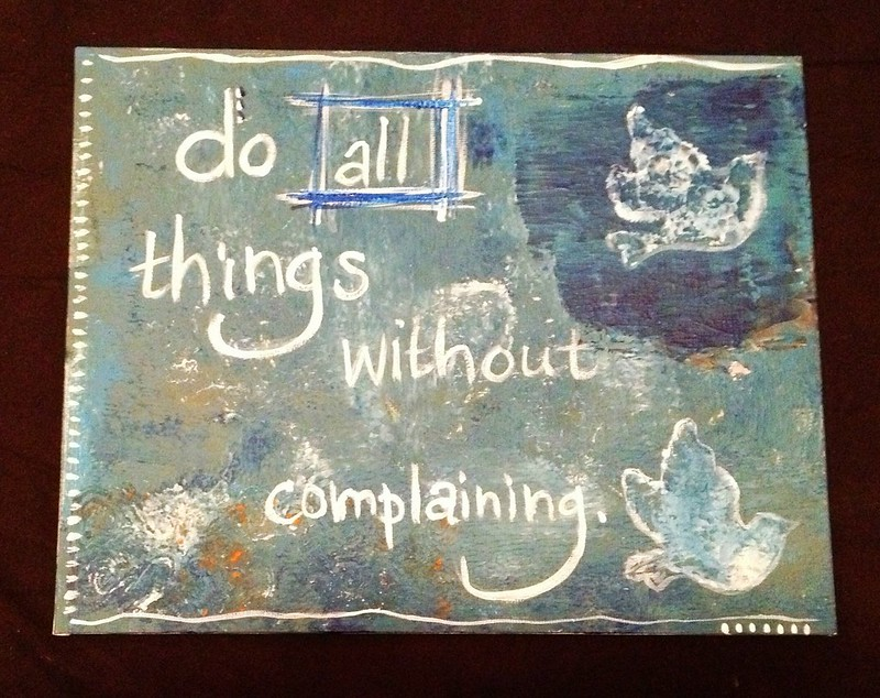Do all things without complaining