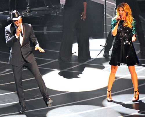 Tim and Faith sing 2