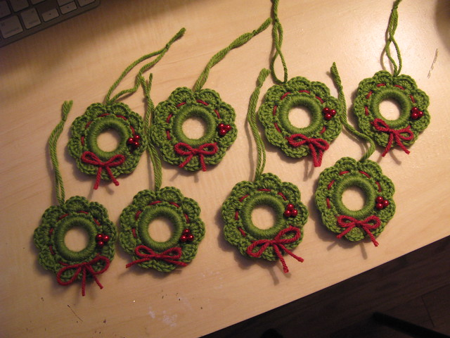 wreath ornaments