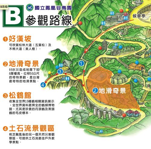 鳳凰谷鳥園 B路線