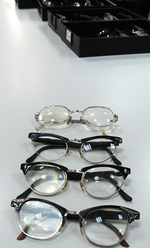 1950's glasses for a far sighted person, donation, Northgate Mall, Seattle, Washington, USA by Wonderlane