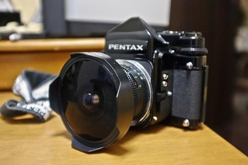 Pentax67 with Arsat 30mm f3.5(Zodiak)